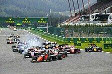 Formel 3 Spa 2021: Alle News & Ergebnisse im Ticker