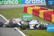 Formel 1 2020: Belgien GP - Unfall Giovinazzi/Russell