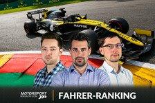Formel 1 Spa, Fahrerranking: Ricciardo beendet Verstappen-Run