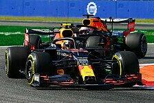 Formel 1 Monza, Verstappen: Partymode nicht Grund für RB-Flop