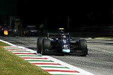 Formel 2 Monza: Ticktum disqualifiziert, Schumacher erbt Podium