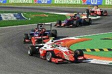 Formel 3 Monza 2020: Vesti gewinnt, Gesamtführung wechselt