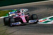 Formel 1, Italien: Perez übertrifft im Qualifying Erwartungen