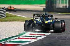 Formel 1, Renault floppt im Monza-Quali: Spa-Hoch verflogen