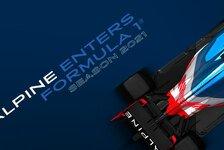 Formel 1, Renault benennt sich um: Alpine F1 Team ab 2021