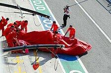 Formel 1 Monza: Heftiger Leclerc-Crash besiegelt Ferrari-Nuller