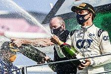 Formel 1: Pierre Gasly verlängert Vertrag mit AlphaTauri