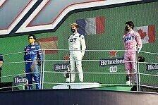Formel 1 2020: Italien GP - Podium