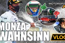 Formel 1 - Video: Formel 1 Wahnsinn von Monza: So verlor Hamilton den Sieg