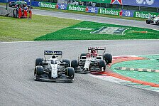 Williams' letztes Formel-1-Rennen: Bewegende Szenen in Monza