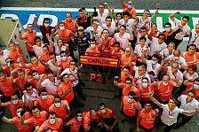 Formel 1 - Video: Formel 1, Italien GP: McLarens Feierstunden in Monza