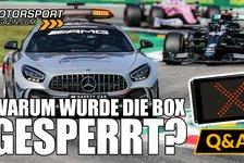 Formel 1 - Video: Formel 1, Monza: Warum wurde die Boxeneinfahrt gesperrt?