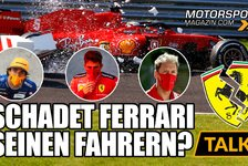 Formel 1 - Video: Formel 1, Vettel & Co: Wie sehr schadet Ferrari seinen Fahrern?