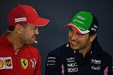 Formel 1, Perez als Vettels' neue Messlatte: Schwer vorstellbar
