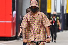 Formel 1 2020: Lewis Hamilton und seine Outfits