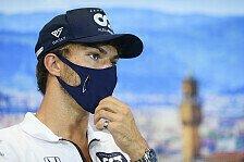 Formel 1: Pierre Gasly als sechster Fahrer Corona-positiv