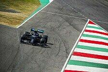 Formel 1 Mugello 1. Training: Bottas vor Verstappen und Leclerc