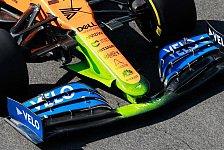 Formel 1, McLaren testet neue Mercedes-Nase vor Deadline