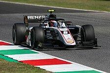 Formel 2 Mugello: Lundgaard-Pole, Schumacher nach Ausritt P15