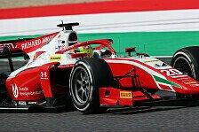 F2 Mugello: Lundgaard dominiert, Schumacher baut Führung aus