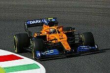 Formel 1 Mugello, Norris trotz Crash pro-Kiesbett: Besser so