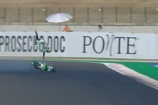 Moto2 Misano: Polesitter Gardner out, Brüche in Hand und Fuß