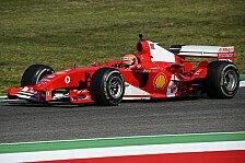 Formel 1 2020: Toskana GP - Mick Schumacher im Ferrari F2004