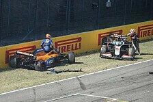 Formel 1 Mugello 2020, Restart-Crash: 12 Fahrer verwarnt