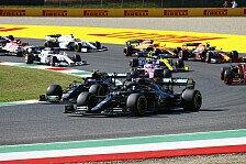 Formel 1, Mugello: Hamilton siegt in Crash-GP, Albon auf Podest