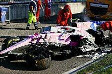 Formel 1, Trotz mysteriösen Crashs: Updates nur für Stroll