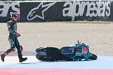 MotoGP - Fabio Quartararo nach Misano-Sturz: War zu ungeduldig