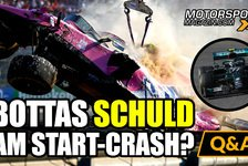 Formel 1 - Video: Formel 1, Mugello-Chaos: War Bottas schuld am Start-Crash?