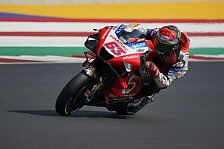 MotoGP Misano: Bagnaia knackt im 3. Training Rundenrekord