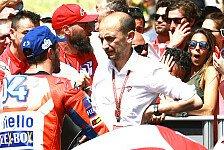 MotoGP - Dovizioso vs. Ducati-Boss: Öffentlicher Schlagabtausch