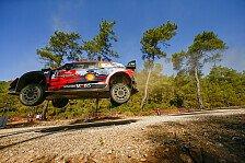 Hyundai 2021 mit Tänak, Neuville, Sordo und Breen in der WRC