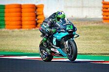 MotoGP Barcelona: Tagesbestzeit für Morbidelli, viele Crashes