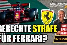 Formel 1 - Video: Formel 1, Danners Fazit: Gerechte Strafe für Ferrari?