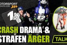 MotoGP - Video: MotoGP Misano: Crash-Drama und Strafen-Ärger (Analyse)