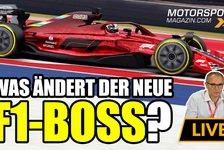 Formel 1 - Video: Formel 1: Was ändert sich mit dem neuen F1-Boss?