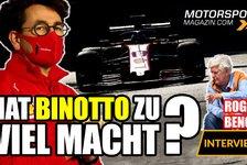 Formel 1 - Video: Formel 1, Ferrari-Krise: Hat Binotto zu viel Macht?