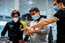 Formel 1, Fernando Alonso ist zurück: Erster Besuch bei Renault