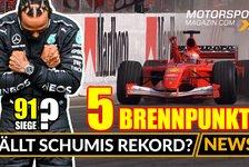 Formel 1 - Video: Formel 1, Russland GP: Stellt Hamilton Schumis Sieg-Rekord ein?