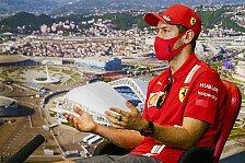 Sebastian Vettel: Kämpfe bei Ferrari besser nicht geschlagen