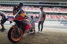 MotoGP: Marc Marquez zu Besuch im Barcelona-Paddock