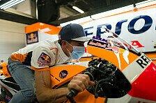 MotoGP: Marc Marquez befindet sich im Paddock von Barcelona