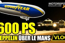 24 h Le Mans - Video: 24h Le Mans 2020: Wir fliegen mit dem Goodyear Blimp!