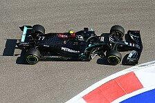 Formel 1, Sotschi 1. Training: Bottas P1, Hamilton Vorletzter