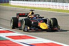 Formel 2 Russland Qualifying: Tsunoda-Pole, Schumacher auf P3