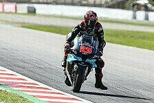MotoGP Barcelona: Erneuter Bremsdefekt bei Fabio Quartararo