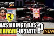 Formel 1 - Video: Forrmel 1, Russland GP: Was bringt das neue Ferrari-Update?
